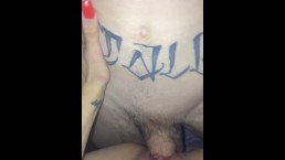 Petite Lil whore pleasures young fat cock