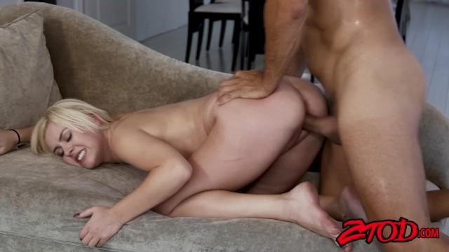 Slut summer Teen slut summer day bouncing on cock after sucking it