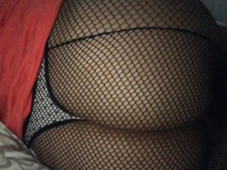 My ass in fishnets ;)