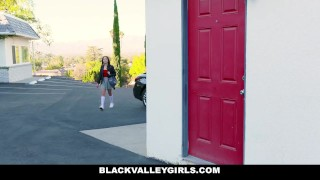 BlackValleyGirls - Hot Ebony Teen Makes Her Neighbor Cheat On His Girlfrien Licking missionary