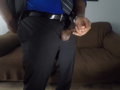 Ballzdeep3055 Masturbating before interview