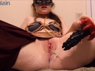 Slave Leia's gushing egg birth (teaser)