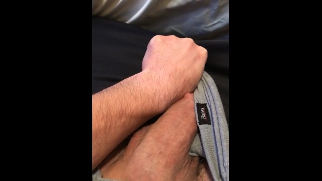 Big Fat White Cock Bulge In Underwear Growing And Throbbing Pornhub Com