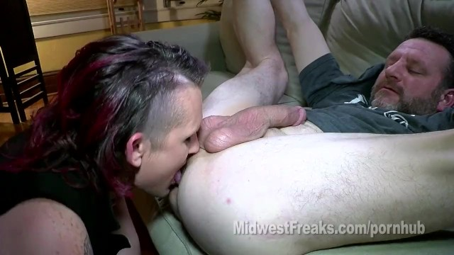 Inside the anal area Truckstop millie