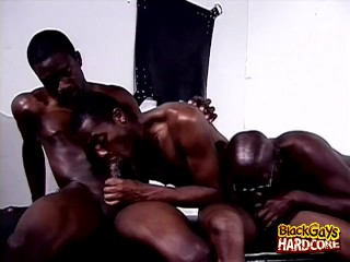 Black Gays and A Hot Orgy