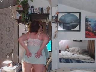 "v74 Curvy Sexbomb auntie tries to bang ""stepnephew"""