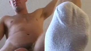 Who jock alex a masturbating big is muscular loves cocked brunette toes