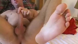 Alex is a muscular big cocked jock who loves masturbating Vibrator shemale