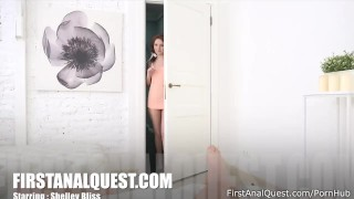 Amazing Shelley Bliss gets excited from anal fucking