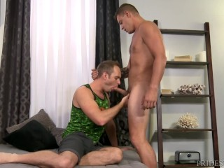 Daddy's Dick's A Fucking Mouthful I Need It In My Hairy Ass!