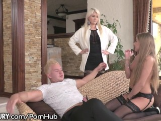 Pornstar Lesel Fucking, Hung Hubby Caught Fucking Mistress and Wife Joins In Big ass Big Dick