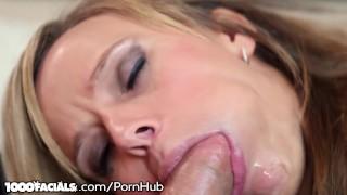 Hot Sexy Blonde MILF Pristine Edge Finds Ur Dick So Yummy!