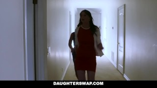 Hot lesbo moms two teach their stepdaughters sex daughterswap toys daughter