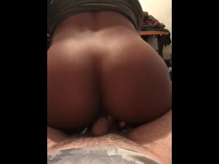 Bouncing on the dick