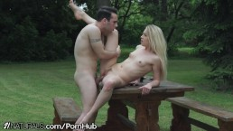21Naturals Romantic Picnic Leads to Fucking in the Park