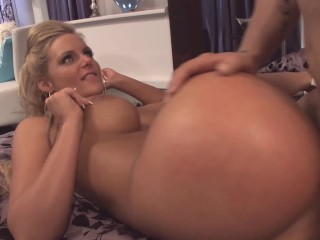 Hot Ass Milf With Big Tits Ass Gets Big Cock In Tight Pussy