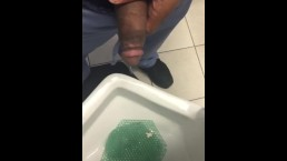 CAUGHT AT THE URINAL