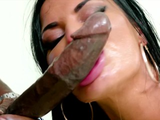 4k Jasmine Jae Gets Double Penetrated & Creampied By BBC