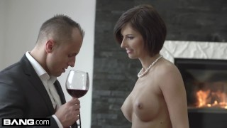 Glamkore - Jenifer Jane sensual striptease & anal pounding Japanese wet