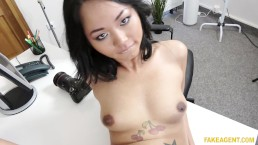 Thai babe with pierced pussy fucked