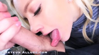 Amateur Allure Riley Star and Elektra Rose Two Sexy Babes Oral Sex Swallow