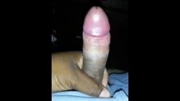 me stroking my dick