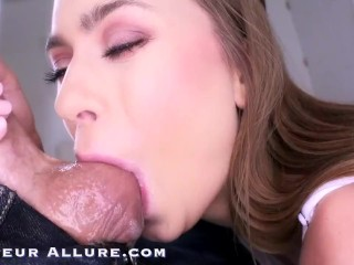 Amateur Allure Ziggy Star & Jill Kassidy Deep Throat Blowjob Cum Swallow