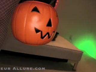 Amateur Allure Alexa Grace Halloween Nurse Sucks, Fucks and Swallows Cum