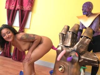 The Infinity Gauntlet Sex Machine!