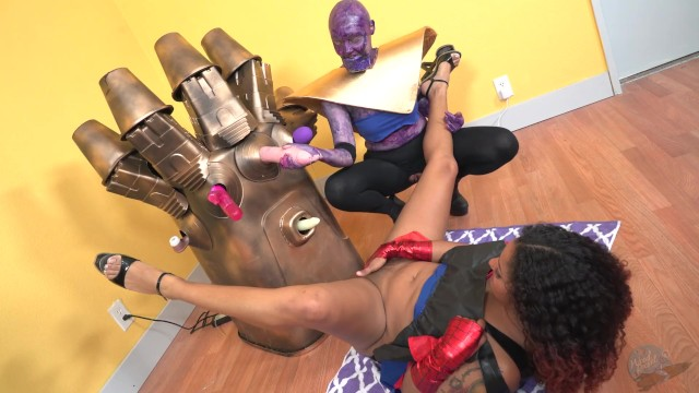 Assvengers Vs Infinity Gauntlet Sex Machine - Pornhubcom-6797