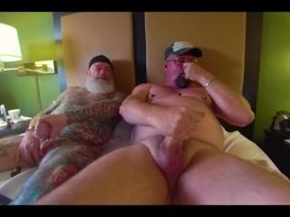 Bate Buddies Stroking in Hotel Pt 2