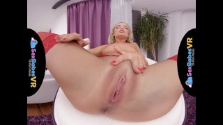 Stockings sexbabesvr pure with victoria red pure cowgirl
