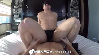 Fetish menpov facial and pov folded blind fuck reality anal