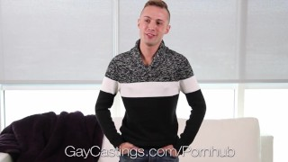 GayCastings Naive Sean Christopher fucked by casting agent