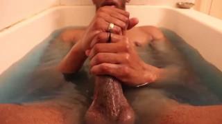 Sensual Bath Stroke