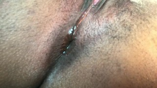 Masturbating & Dildo-ing in my car. CREAMY  close up black girl wet pussy creamy pussy hairy outside car masturbation public busty toys fingering juicy pussy ass play pussy play