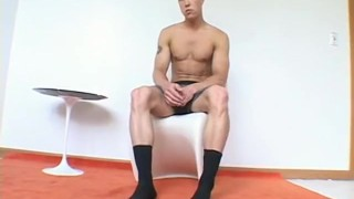 Preview 5 of Tyler is one ripped jock who loves to show off his feet