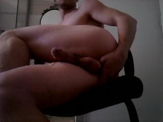 Very huge prostate orgasm