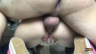 Brunette cul offre son serr jeune anal young