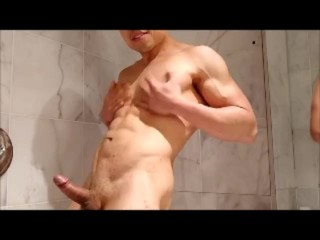 Just me cumming in the shower
