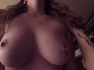 Real Couple Suck and Fuck, deepthroat cowgirl cum