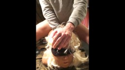 Silicone Sex Doll Blindfold BDSM! Realistic Mia's 51st Video :)