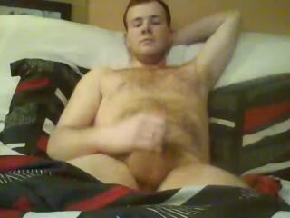 Hung Hot Gay Male Solo Amateur Masturbation