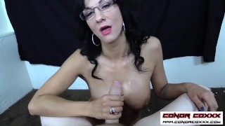 ConorCoxxx-POV handjob from your teacher Jessica Chase Doggystyle tits