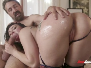 Natural Hairy Pussy Sex Fucked, Giant Nipples And Giant Long Clit Scene