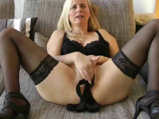 Panty in my MILF Pussy – Refine my Panty for you – you want it?