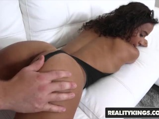 Preview 2 of RealityKings - 8th Street Latinas - Hollie Berry - Horny Hollie