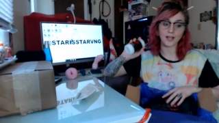 Fucking multiple Large Bad Dragon Toys hard riding Nova Apollo unboxing vid