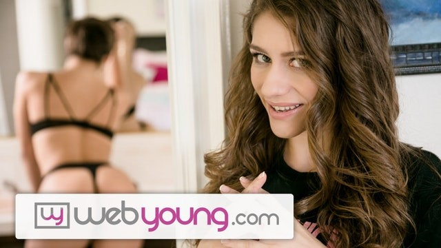 Lesbian hook up Abella danger hooks up with her crazy teen stalker