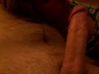 Blonde Blowjob Deepthroating a Big Cock